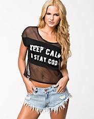 Coolia Mesh Cropped Top