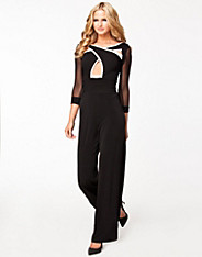Cross Over Bodice Jumpsuit
