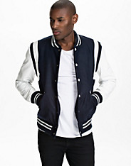 Greaser Leather Varsity Jacket