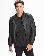 Al Bomber Leather Jacket