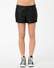 Pattern PU Shorts