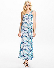 Aqua Summer Long Dress