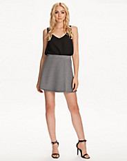 Abby Fold Short Skirt