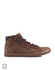 JJ Hero Zip Leather High