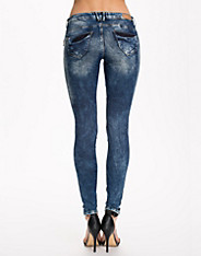 Flashy Slim Zip Jean