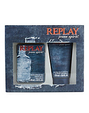 Replay perfume jeans spirit man christmas kit