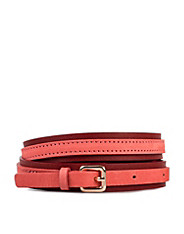 Leather Nubuck Belt