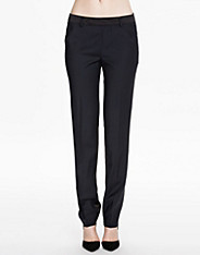 Luisa Satin Wool Slacks