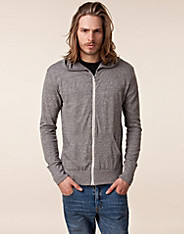 Heather Zip Hoodie