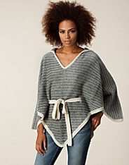 Sandy Knit Poncho