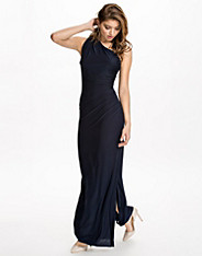 Side Rouched Maxi Dress
