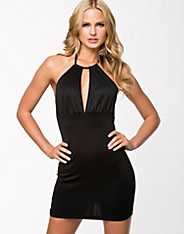 Key Hole Criss Cross Bodycon Dress