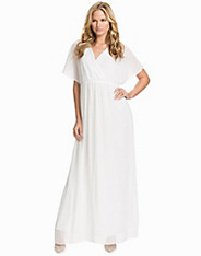 T Bar Embellished Maxi Dress