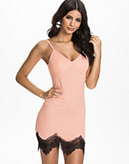 Eyelash Hem Cami Dress