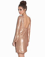 Low Back Bodycon Sequin Dress