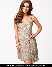 Sequin Strap Dress Nelly Exclusive