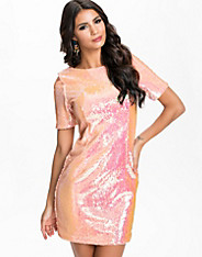 Irredescent Sequin Dress
