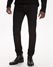 3301 Slim Turner Black Stretch
