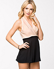 Pleated Bust Playsuit