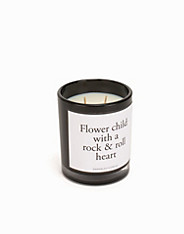 Flower Child With A Rock Roll Heart Damselfly Candles (2087793251)
