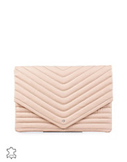 Lala Leather Clutch