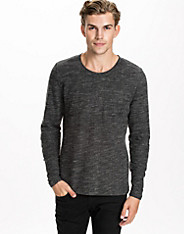 Tim Texture Cotton Mix Sweat