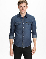 Lee Western Shirt Blue Ice