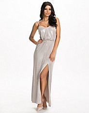 Metallic Maxi Dress