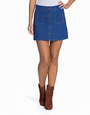 Abba Denim Skirt fashion union