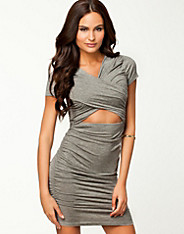 Creased Midriff Dress