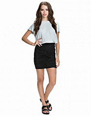 Front Draped Skirt nly trend