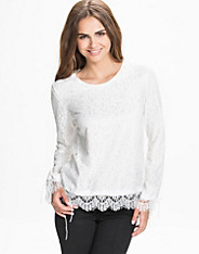 Lace On Lace Blouse