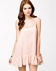 Low Wide Frill Dress