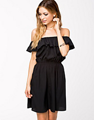 Off Shoulder Frill Dress