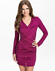 Slim Draped Dress