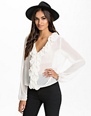 Front Frill Blouse