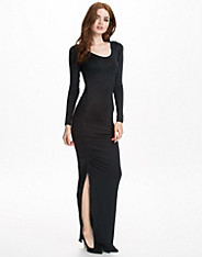 Longsleeve Drape Dress