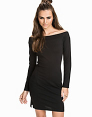 The Offshoulder Dress nly trend
