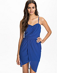 Bustier Drape Dress
