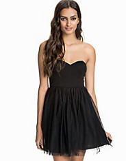The Tulle Bustier Dress nly trend
