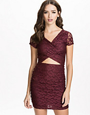 Midriff Lace Dress