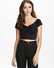 Flirty Cropped Top