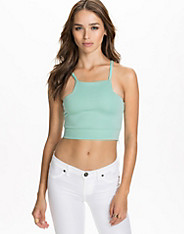 Square Neck Cropped Top nly trend