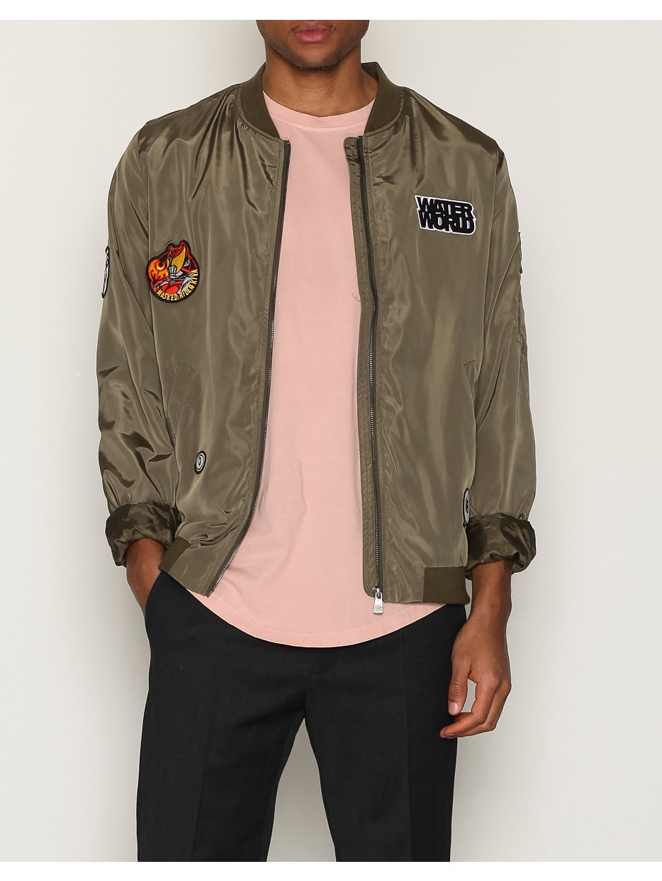 onsBADGE BOMBER JACKET EXP