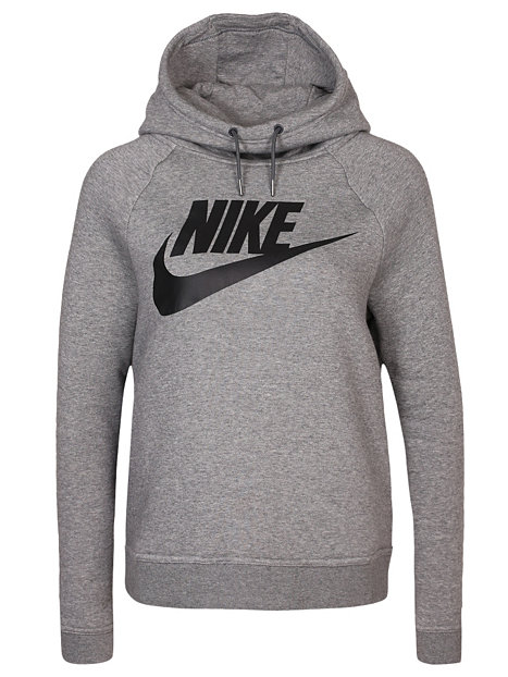 W Nsw Rally Hoodie Gx1 - Nike - Carbon - Pullover ...